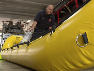 Behind the scenes with local water rescue team