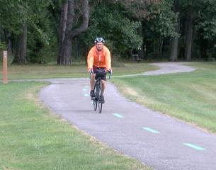 Canton man biking cross-country for colon cancer