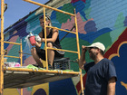 The story behind Gordon Square's new mural