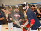 Indians celebrate AL Central title