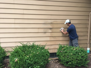 Lewd images spray-painted on Strongsville homes