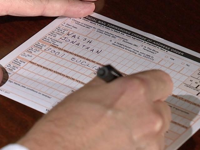 Change of address mail scam hitting Ohio