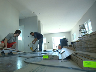 Thieves targeting homes under construction