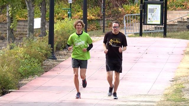 Marathon Leukemia Runner