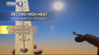WEATHER: Sunshine & record warmth to linger
