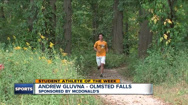 Student Athlete of the Week- Andrew Gluvna