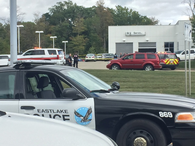 Police Officer Shot At Ohio Classic BMW Car Dealer in Willoughby Hills