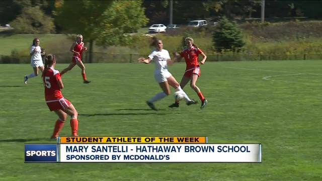 Student Athlete of the Week- Mary Santelli