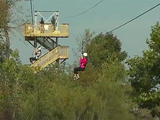 Ziplining comes to Geneva State Park