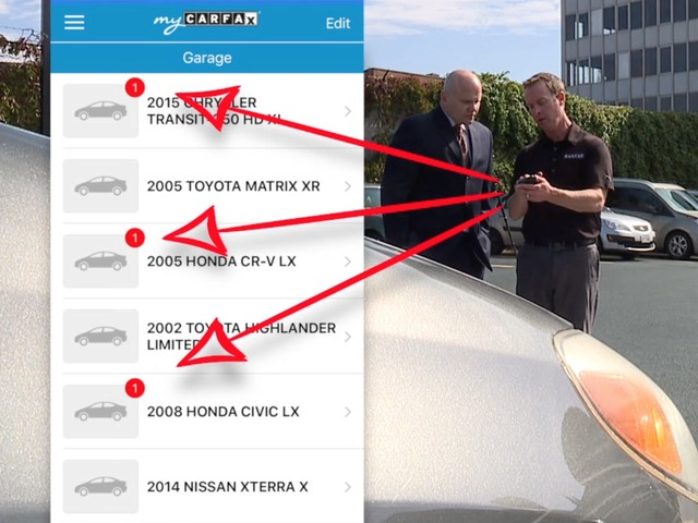 New app informs you about car-related issues, possible recalls