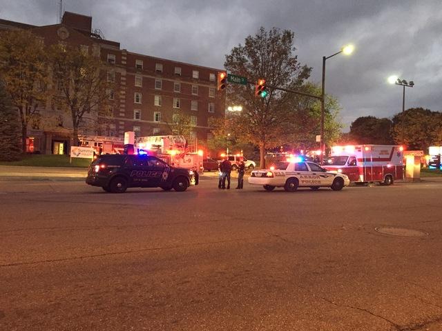 Crews battle fire in Summa St  Thomas Hospital in Akron