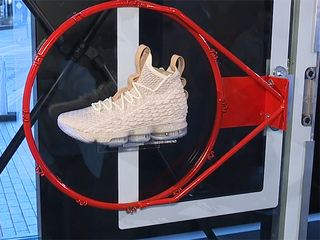 Pop-up space downtown displays LeBron's new shoe