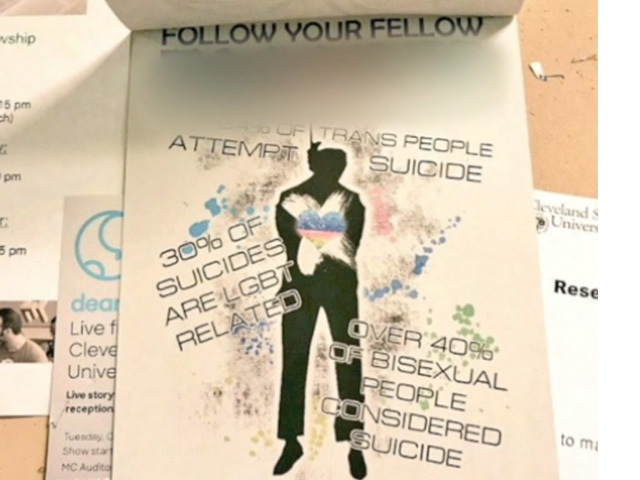 Student forum on anti-LGBT fliers gets heated