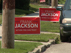 Election signs popping up in illegal places
