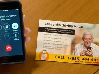 Ride sharing for senior citizens