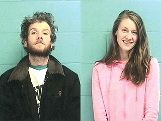 Man, woman charged in string of armed robberies