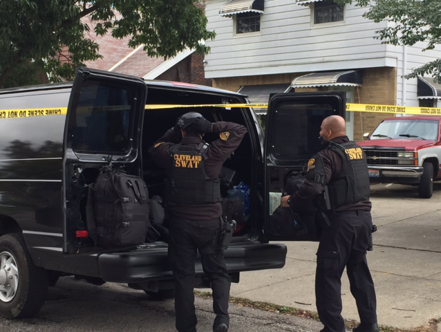 Wanted former Cleveland police officer kills self after standoff