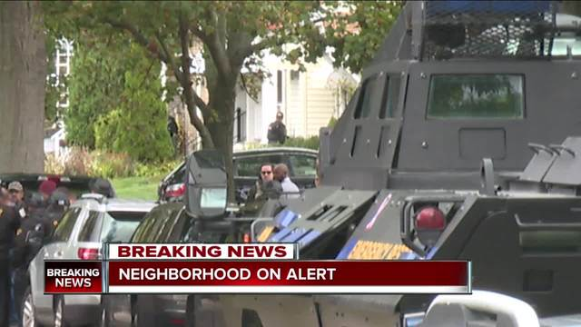 Wanted former Cleveland police officer kills self after standoff