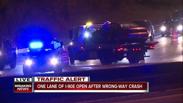 Man, 75, killed in wrong way crash on Interstate 90 - News ...