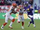 After half lead, Browns lose 8th game to Vikings