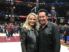 Wayne Newton spotted at Cavs game