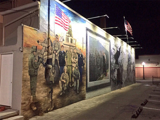 New mural in Amherst honors Lorain Co. veterans