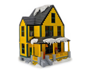 LEGO Christmas Story house reaches goal