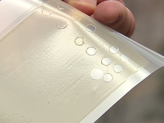 UA Polymer film could help fight opioid epidemic