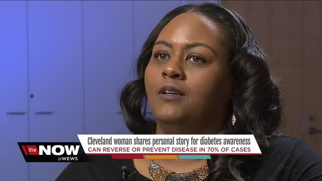 Cleveland woman shares personal diabetes -wake-up call- to promote awareness