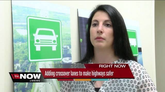 Adding crossover lanes to make highways safer