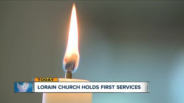 First Lutheran Church in Lorain holds first services since its old…