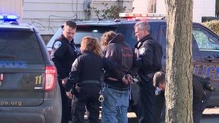 Pursuit ends after suspect's truck breaks down