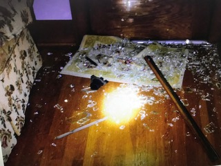 Woman's house ransacked after electricity is cut