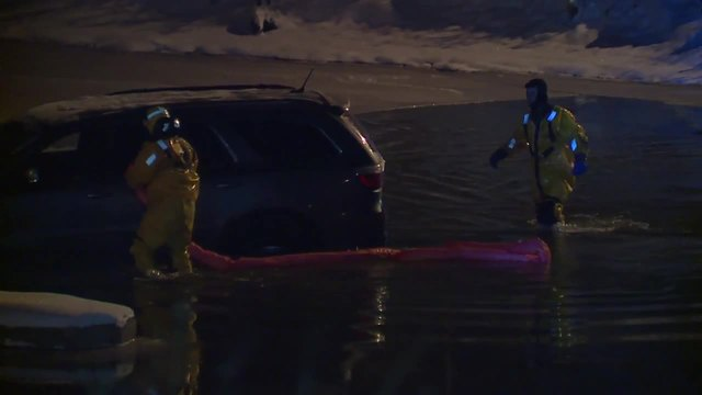 Man rescued after driving into Chagrin River- police say he thought…