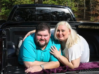 Couple fat-shamed in engagement photos