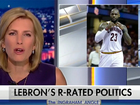 Fox News anchor to LeBron: 'Shut up and dribble'