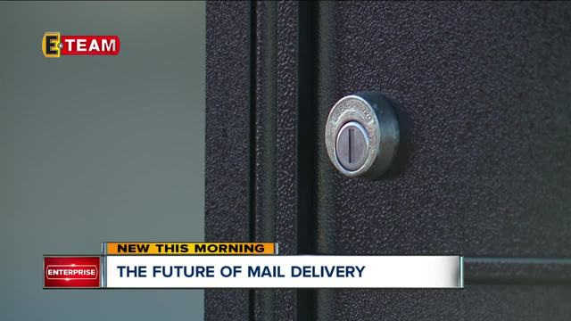 Centralized mail delivery system tries to streamline ...
