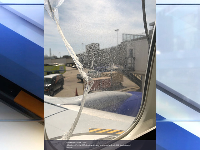 'Window issue' causes Southwest flight from Chicago to make emergency landing