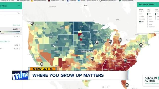 Income By Zip Code Map Interactive map: How much does your zip code determine where you