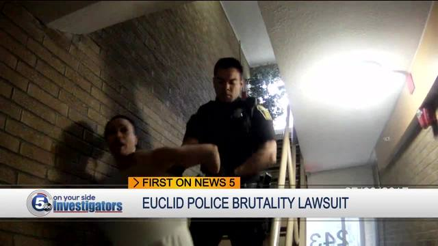 Woman who filed lawsuit says she feared for her life when Euclid officer…