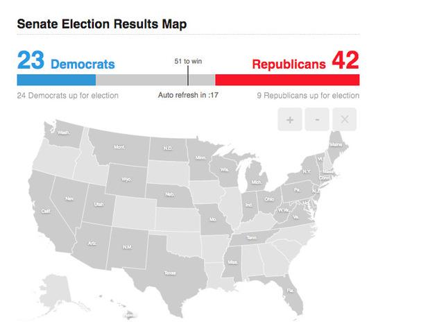 Track U.S. House, U.S. Senate, governor races across the country ...