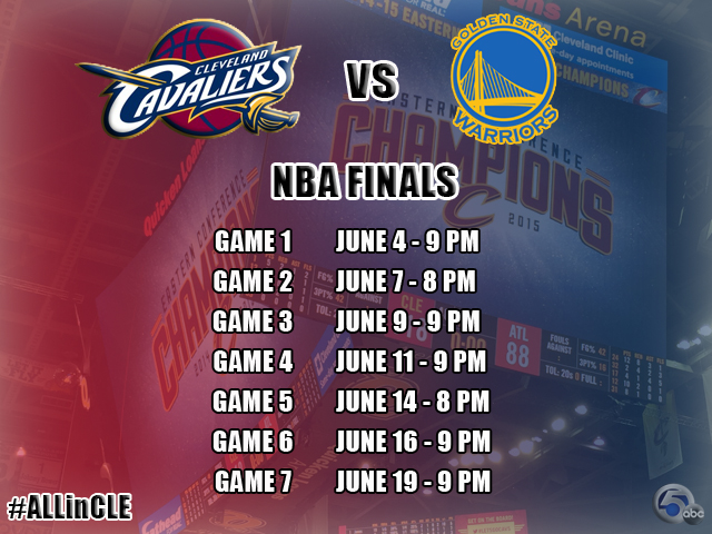 Nba finals dates