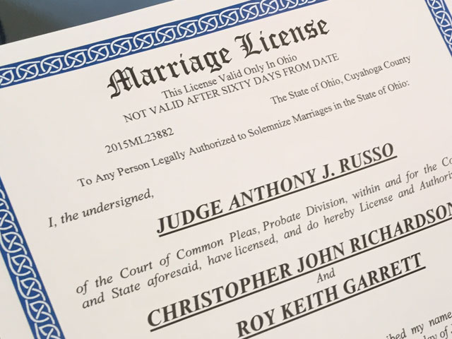 Image Result For Marriage Licence Ohio