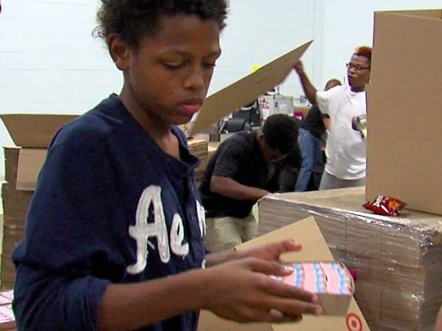 Akron Canton Food Bank Volunteer
