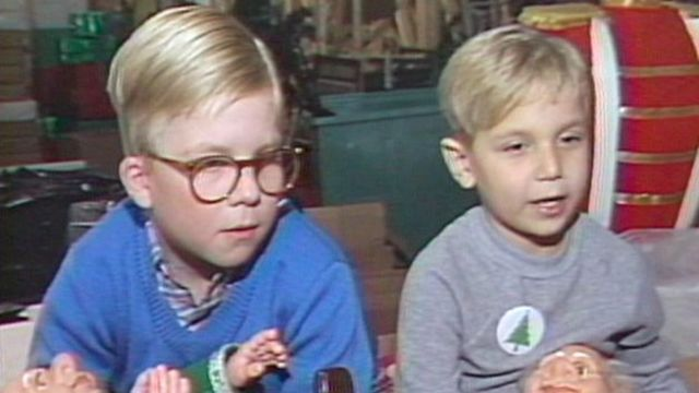 on the movie set inside higbees - What Year Is Christmas Story Set
