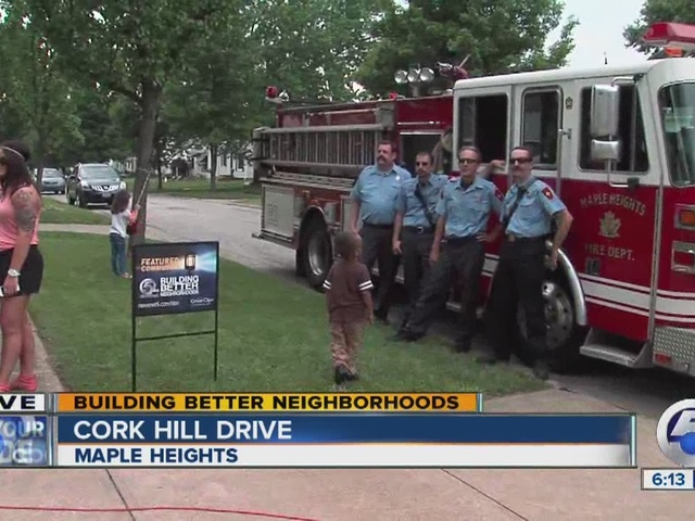 Leon Bibb presents Featured Street Sign in Maple Heights