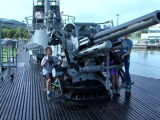 Pearl Harbor remembrance ceremony on U.S.S. Cod