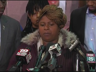VIDEO: Tamir Rice's mother speaks to media