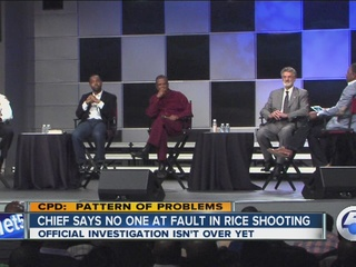 CPD Chief: Officer not at fault in Rice shooting
