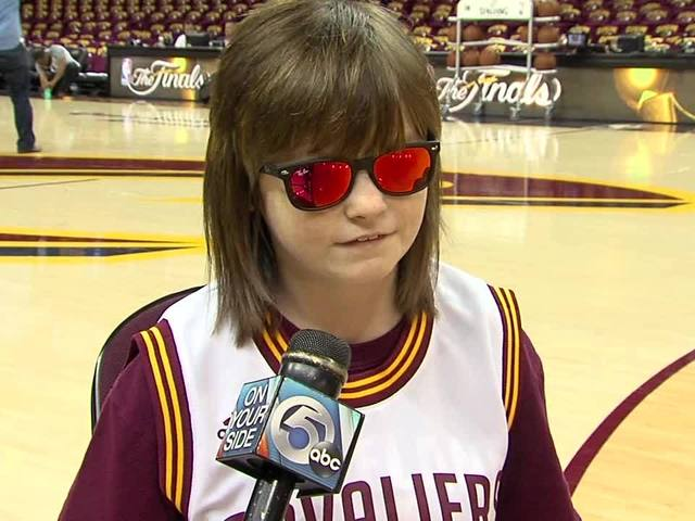 Teen with cerebral palsy Marlana VanHoose to sing National Anthem during Game 6 of the NBA ...
